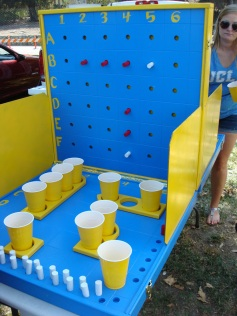 No tailgate is complete without an envy-worthy drinking game ... BattleShots!