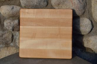 "# 14-15. Hard Maple. 7"" x 9"" x 3/4""."