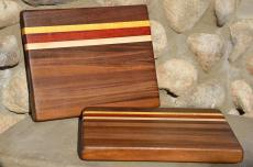 # 14-57. Black Walnut, Hard Maple, Padauk and Yellowheart.