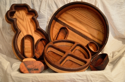 Routed Bowls - Group 02