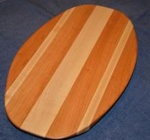 Surfboard # 15 - 06. Cherry & Hard Maple.