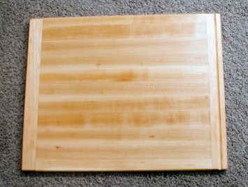 "Cutting Board 16 - Edge 008. Hard Maple. 18"" x 22"" x 1""."
