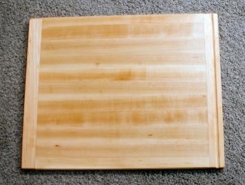 """Cutting Board 16 - Edge 008. Hard Maple. 18"""" x 22"""" x 1""""."""