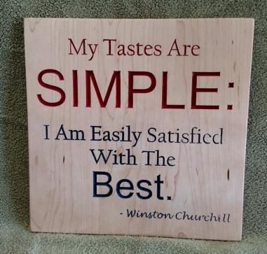 CNC Sign 18 - 56 My Tastes